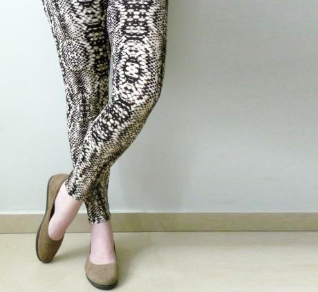 Snake Printed Leggings