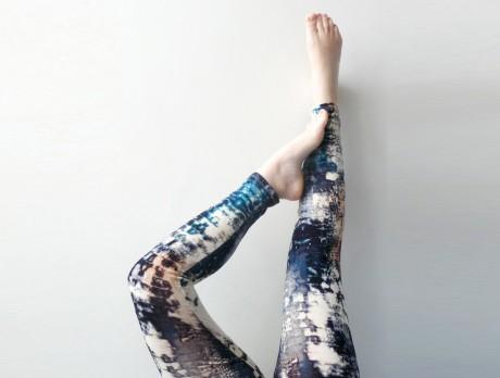 Printed Color Leggings
