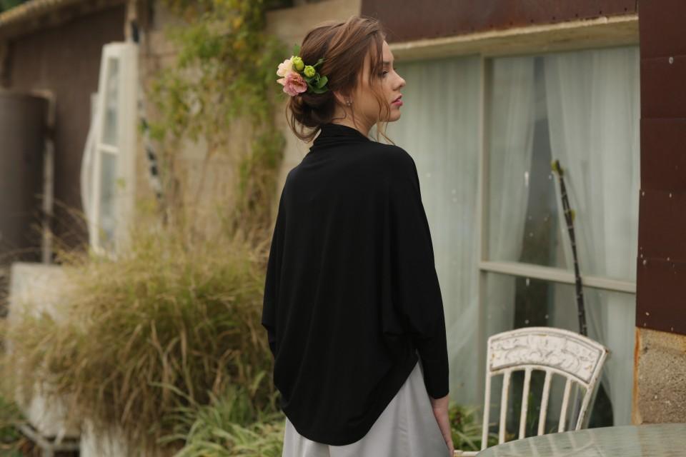 Black Cardigan kimono