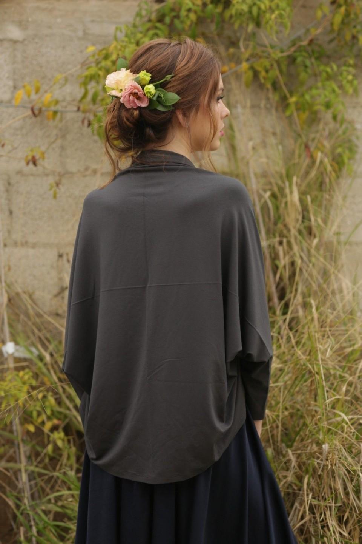 Grey Cardigan kimono