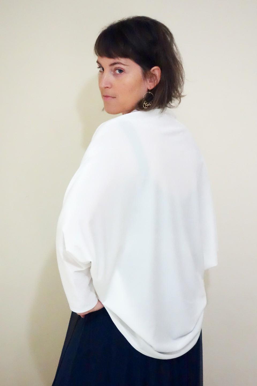White velvet jacket